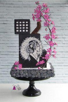 Cuties Street Art Collaboration Cake Icing, Eat Cake, Cupcake Cakes, Cupcakes, Pretty Cakes, Beautiful Cakes, Amazing Cakes, Japanese Party, Japanese Cake