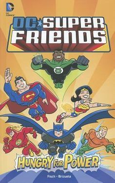 GENRE: Graphic Novel. SERIES: DC Super Friends. Professor Ivo is annoyed that the Super Friends are getting all the headlines, so he unveils his android, Amazo, which combines all of their powers.