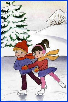 Christmas And New Year, Christmas Crafts, Winter Images, Free To Use Images, Teaching Kindergarten, Winter Activities, Winter Theme, Drawing For Kids, Pre School
