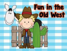 Fun in the Old West - figurative language, syllables, adjectives, and more in this 80 + page packet of Wild West fun!  Paid