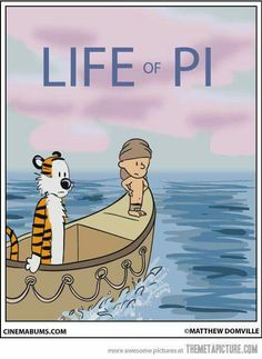 Life of Pi with Calvin and Hobbes