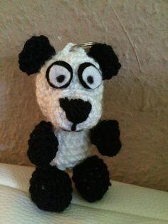 Kostenlose Häkelanleitung - Kleines Pandabärchen - Schlüsselanhänger…