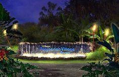 New Polynesian Village Resort Sign! #WDW