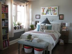 Love this bedroom from Apartment Therapy http://www.apartmenttherapy.com/brittanys-recharge-recenter-bedroom-my-bedroom-retreat-contest-186796#