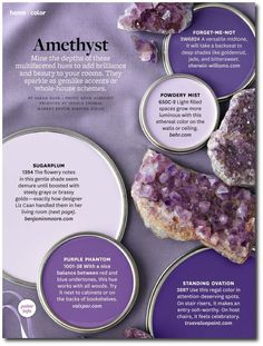 Amethyst Paint Colors By Bhg Interiors Color I Like Powdery Mist