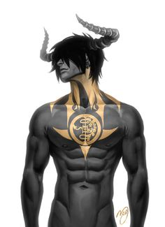 """pandanoi: """" Just recently 'Herem' hit 666 followers on Tapastic, so I thought it… Angels And Demons, Incubus Demon, Boy Character, Character Concept, Male Tattoo, Dark Fantasy, Anime Fantasy, Fantasy Art, Character Design Inspiration"""