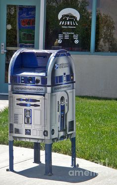 Roswell New Mexico - Post Office mail box.