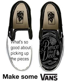 """PTV Vans -.-"" by screamon13 ❤ liked on Polyvore"