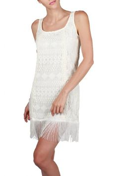 Women's Embroidered Gatsby Dress Now in Stock