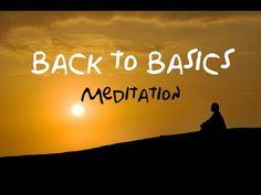 Back To Basics Guided Meditation: For beginners & returning meditation users - Let's GOO Yoga Guided Meditation, Manifestation Meditation, Meditation Videos, Easy Meditation, Meditation Practices, Meditation Music, Mindfulness Meditation, Meditation Scripts, Meditation Youtube