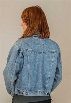 Vintage Festival Wrangler Denim Jacket One Size