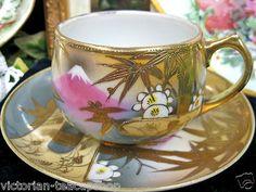 nippon cup and saucer tea