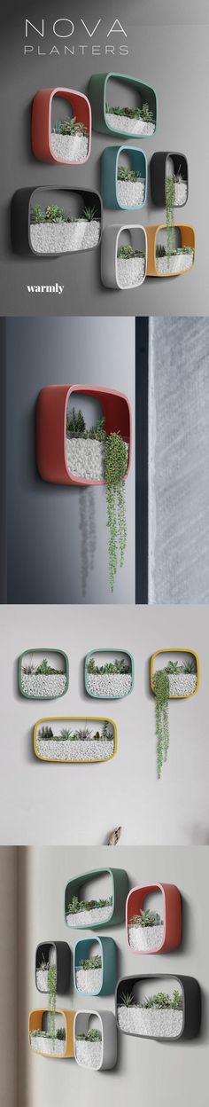 Suzi Wood Working Nova™ Wall Planters from Warmly ★★★★★ Nova™ Wall Planters from Warmly ★★★★★ Nova™ Wall Planters from Warmly ★★★★★ Idee deco. Cheap Home Decor, Diy Home Decor, Wall Decor, Room Decor, Wall Art, Diy Wall, Modern Wall, Modern Spaces, Home Projects