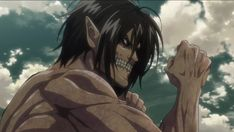 Thought I'll post the full fight between Eren and the armored Titan, great grappling scene between giants :) Attack On Titan Season 2, Attack On Titan Eren, Eren Aot, The Last Of Us2, Anime Fight, Anime Stickers, Anime Screenshots, Titans Anime, Free Prints