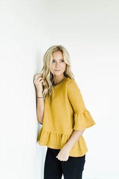 Sherlock Knit Peplum | ROOLEE