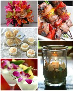 caribean wedding theme | Katherine's