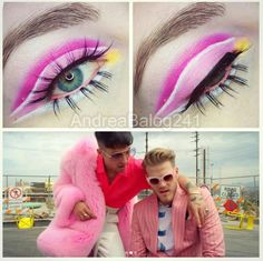Superfruit Vacation video inspired make-up #2