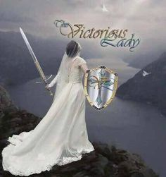 Victorious lady, Bride of Christ warrior. Gods Princess, Warrior Princess, Christian Images, Christian Art, Daughters Of The King, Daughter Of God, Braut Christi, Christian Warrior, Jesus Bible