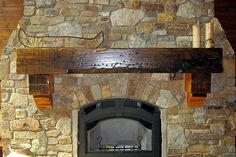 You choose an individual piece of rough-sawn pine or cedar, or give us a call to hear about other available wood species and we'll create a unique mantel for over your fireplace. Description from enterprisewood.com. I searched for this on bing.com/images