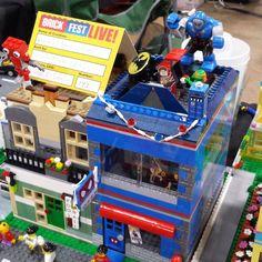 My comic shop got some amazing additions this weekend! Thank you @brickshowtv @eclipsegrafx @minifigfx @themadstacker @brickbuildersclub @brickbuilderspro #phillybrickfest2016 #phillybrickfest #lego #afol #ComicShop #LegoMOC #girlsbricktoo by kelyn39
