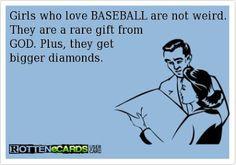 Loving the Baseball Loving Girl