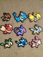 Perler Beads Pokemon perler,hama,square pegboard,video games,nintendo,pokemon,