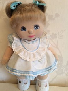 MY CHILD DOLL ASH DOUBLE RIBBONS