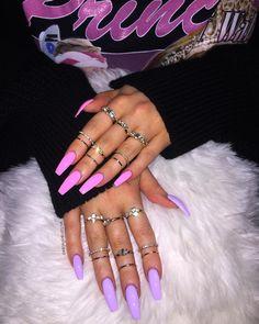 Acrylic nails summer nails nails natural nails gel nails glitter na Glitter Gel Nails, Aycrlic Nails, Swag Nails, Coffin Nails, Neon Nails, White Acrylic Nails With Glitter, Neon Orange Nails, Long Gel Nails, Grunge Nails