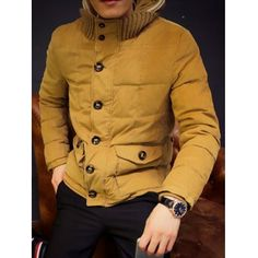 Clothes Type: Down & Parkas  Material: Polyester, Cotton  Collar: Hooded  Clothing Length: Regular  Style: Fashion  Weight: 1.290KG  Sleeve Length: Long Sleeves  Season: Winter  Package Contents: 1 x Coat  Our Size	Bust	Length	Shoulder Width	Sleeve Length M	108	67	45	65 L	112	69	46	66...