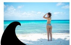CAMPECHE bottom | Shop here http://www.auraiswimwear.com/collections/bottoms/products/campeche-brazilian-bottom-blue