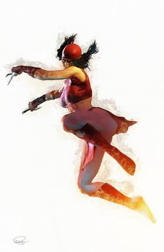 Elektra by Daniel Scott Murray
