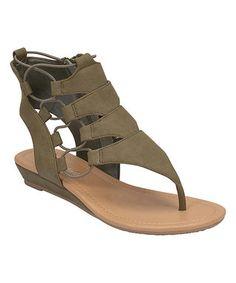 Olive Dartina Sandal