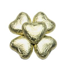 100 Chocolate Hearts, Gold, £20.95
