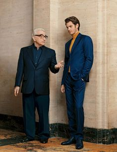 Andrew Garfield y Martin Scorsese para The Hollywood Reporter