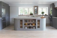 A beautiful open plan barn conversion - Sustainable Kitchens Island Design Inspiration