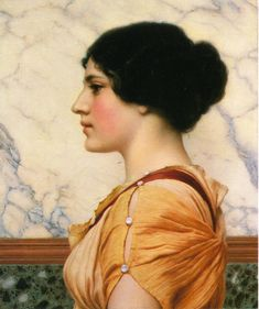Cassotis (1914)  - John William Godward -