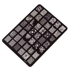 Tonsee® Nail Stamping Printing Plate Stamping Manicure Nail Art Decor Image Stamps Plate: Amazon.co.uk: Beauty