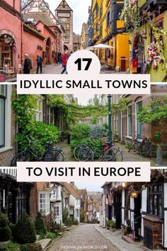 17 Beautiful Small Towns in Europe You Must Visit - This Dar.- 17 Beautiful Small Towns in Europe You Must Visit – This Darling World 17 Beautiful Small Towns in Europe You Must Visit - Europe Destinations, Europe Travel Tips, European Travel, Travel Guides, Usa Travel, Places In Italy, Places In Europe, Places To Travel, Places To Visit