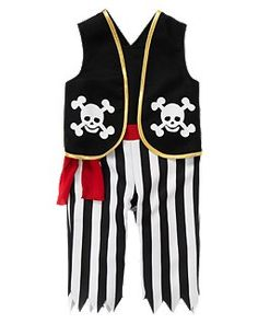 07d02f29cd6 Ahoy Pirate Outfit by Gymboree. Outift includes Ahoy Pirate Costume and  Ahoy Pirate Hat.