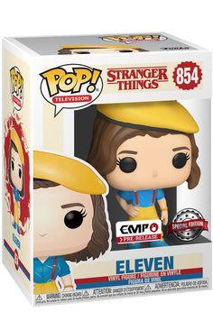 Stranger Things Funko Pop, Stranger Things Kids, Stranger Things Netflix, Funko Pop Toys, Funko Pop Figures, Pop Vinyl Figures, Pop Figurine, Funk Pop, Millie Bobby Brown