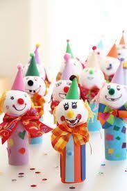 My Jingle Bells in of PaperCrafter mag. Circus Theme Crafts, Clown Crafts, Diy And Crafts, Crafts For Kids, Arts And Crafts, Paper Towel Crafts, Kids Carnival, Create Invitations, Christmas Crafts