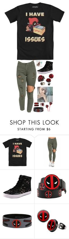 """""""Dead pool"""" by dark-jewel ❤ liked on Polyvore featuring Rebecca Minkoff, Disney, women's clothing, women's fashion, women, female, woman, misses and juniors"""