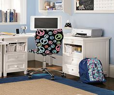 Study table designs - Cool corner study desk design