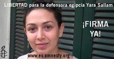osCurve   Contactos : ¡Libertad para la defensora Yara Sallam! ACTÚA
