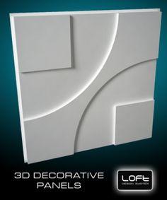 Loft-3D Dekor-5 falpanel - LOFT DESIGN GIPSZ PANELEK - A legújabb trend a belsőépítészetben! - WallArt, Loft Design 3D és Kerma műbőr falpanel és falburkolat webáruház Pop Design For Roof, Design 3d, Loft Design, Plaster Ceiling Design, Pop Ceiling Design, Kitchen Wall Design, Simple False Ceiling Design, Decorative Plaster, 3d Wall Decor