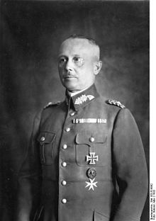 Fritsch in 1932. He was forced into resignation as Chief of the Army (Heer) in February 1938 after spurious allegations of homosexuality. He later became the 2nd German General to die during World War 2. Some say he had a death wish after his 'disgrace'.