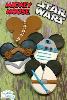Star Wars Mickey Cookies
