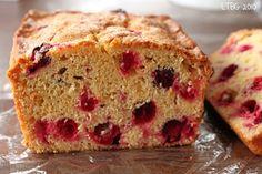 cranberry orange bread.