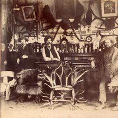 vintage horn bar