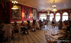 We're eating some contemporary-style hot dogs at a classic Disney stop: Casey's Corner in Disney World's Magic Kingdom! Disney World Resorts, Disney Parks, Walt Disney World, Disney World Magic Kingdom, Disney Food, Main Street, Corner, Indoor, Earth